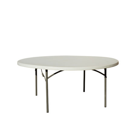 Table ronde pliante 1.80 m